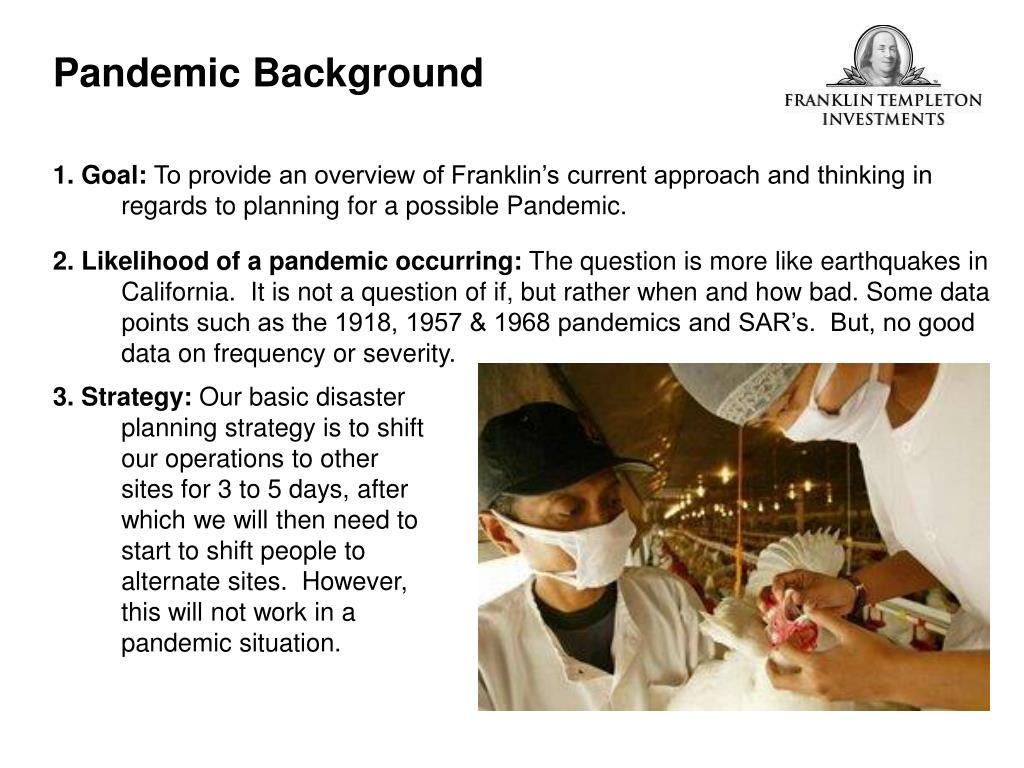 Pandemic Background