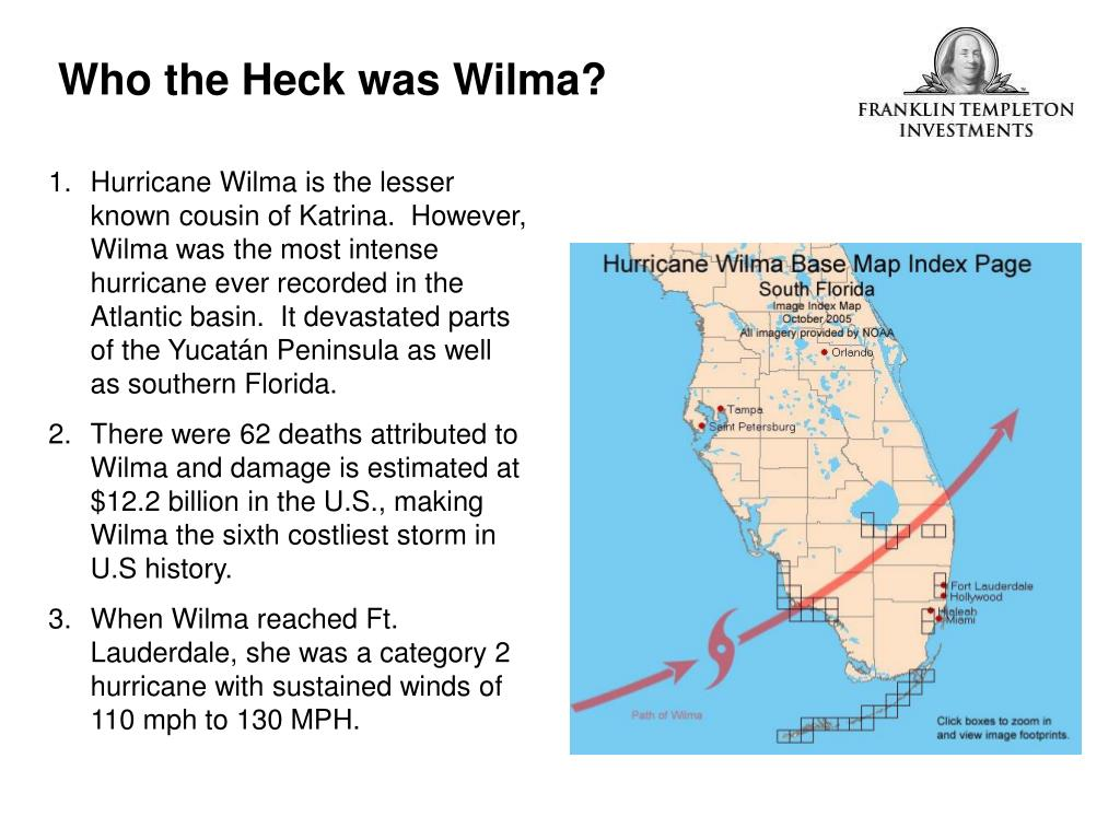 Who the Heck was Wilma?