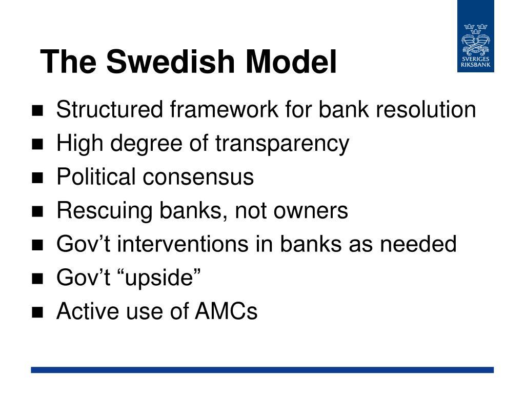 The Swedish Model
