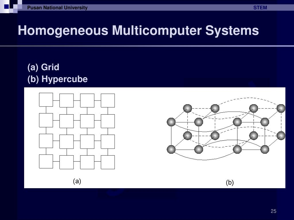 Homogeneous Multicomputer Systems