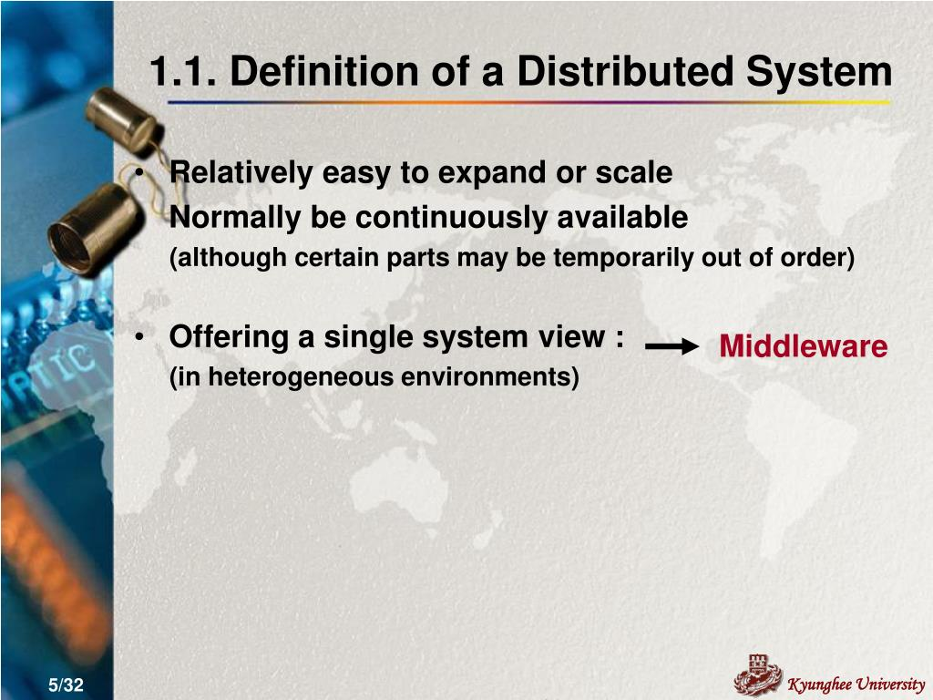 1.1. Definition of a Distributed System
