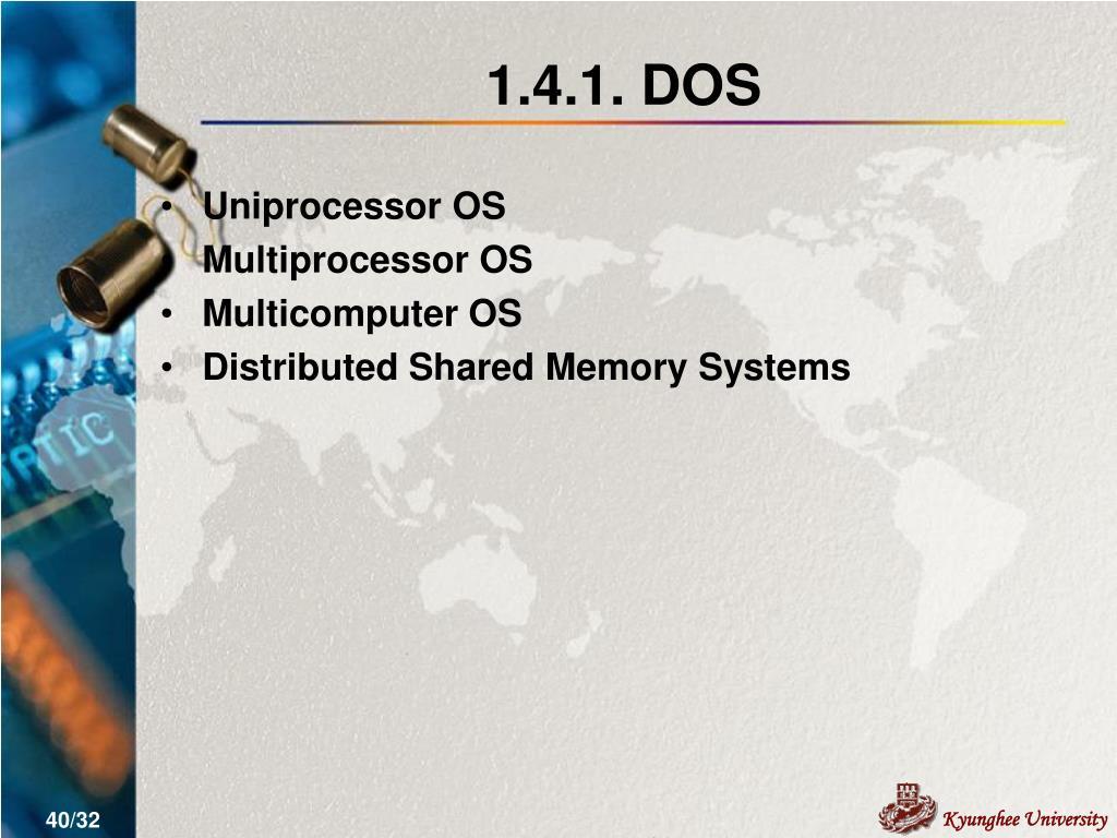 1.4.1. DOS