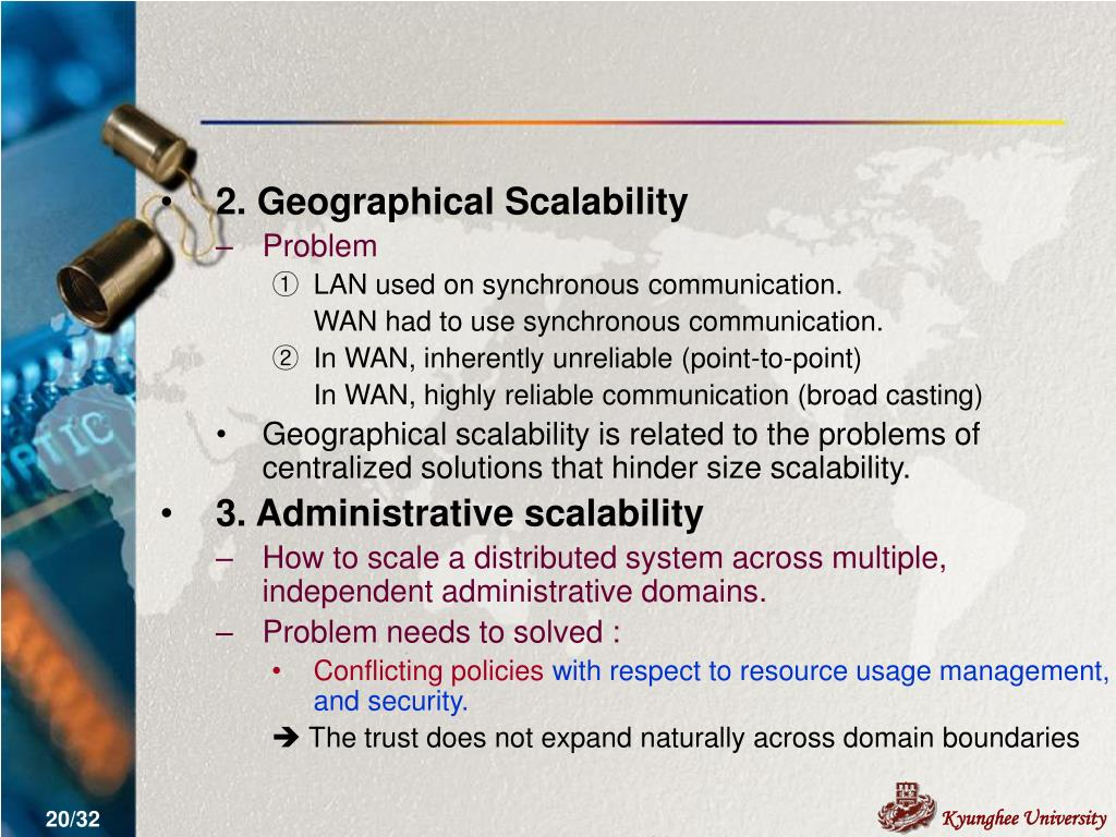 2. Geographical Scalability