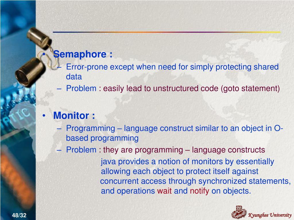 Semaphore :