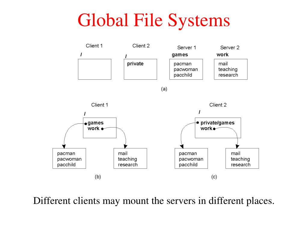 Global File Systems