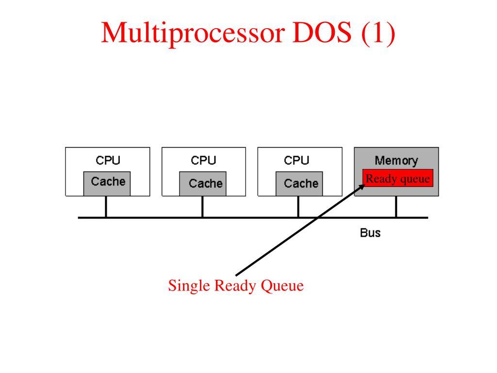 Multiprocessor DOS (1)