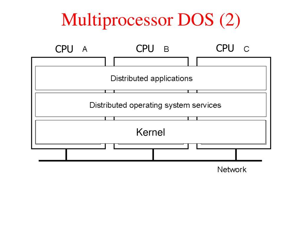 Multiprocessor DOS (2)