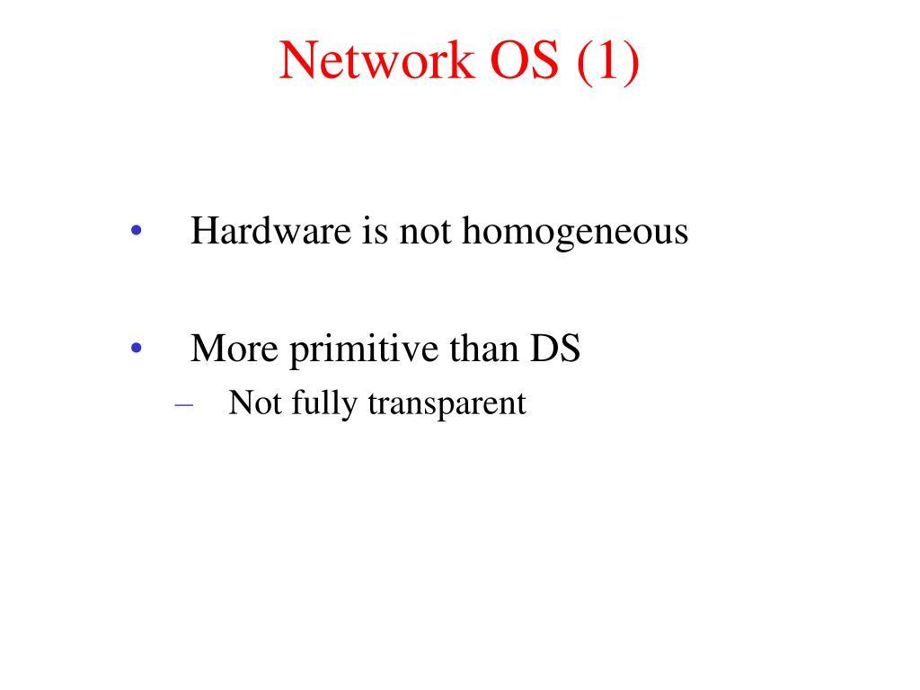 Network OS (1)