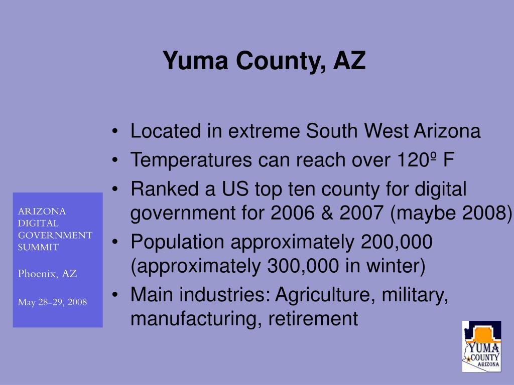 Yuma County, AZ