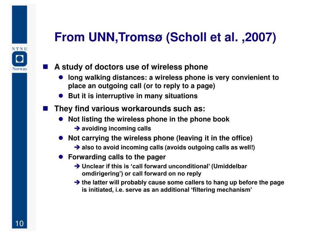 From UNN,Tromsø (