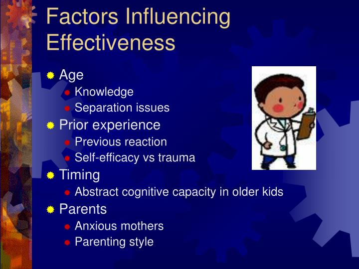 Factors Influencing Effectiveness