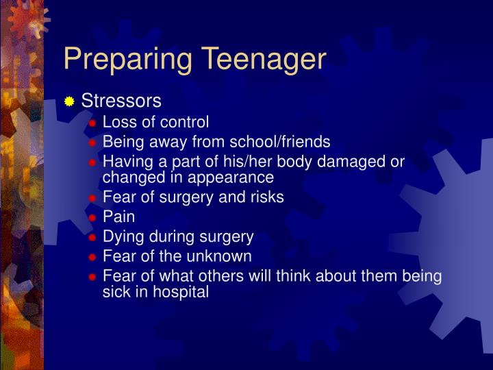 Preparing Teenager