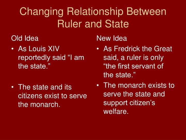 relationship between nobility and monarchy