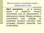 kluczowe procesy zarz dzania wiedz lokalizowanie wiedzy12
