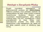 ontologie w zarz dzaniu wiedz7