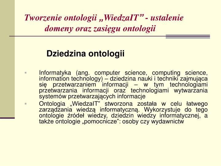 Tworzenie ontologii