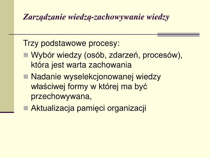Zarządzanie wiedzą-z
