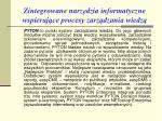 zintegrowane n arz dzia informatyczne wspieraj ce procesy zarz dzania wiedz7