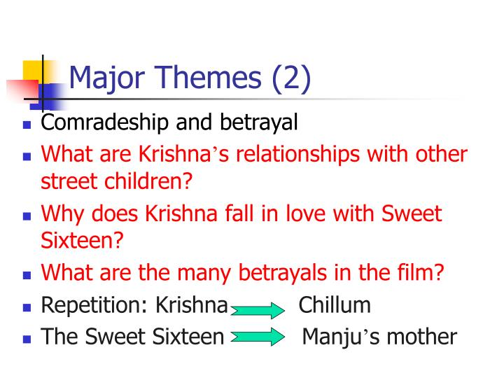 Major Themes (2)