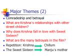 major themes 2