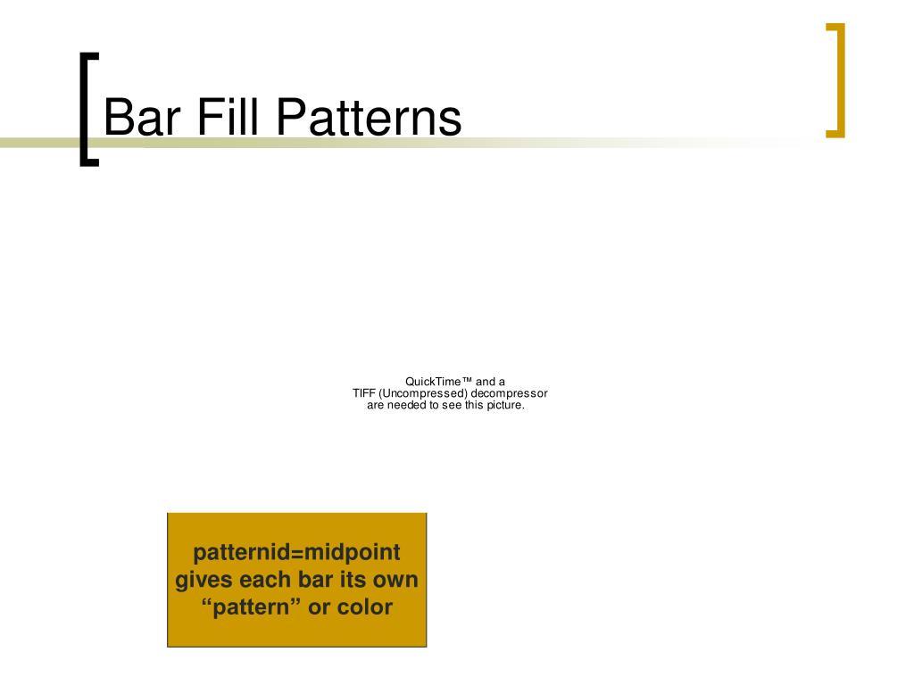 Bar Fill Patterns