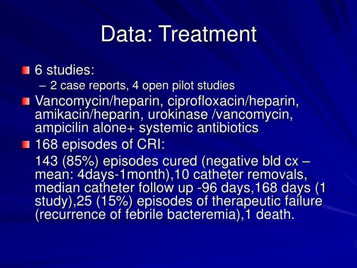 Data: Treatment