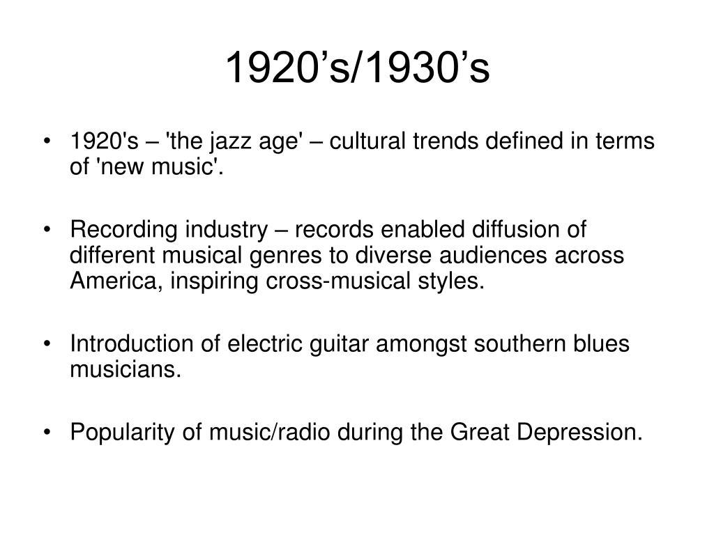 1920's/1930's