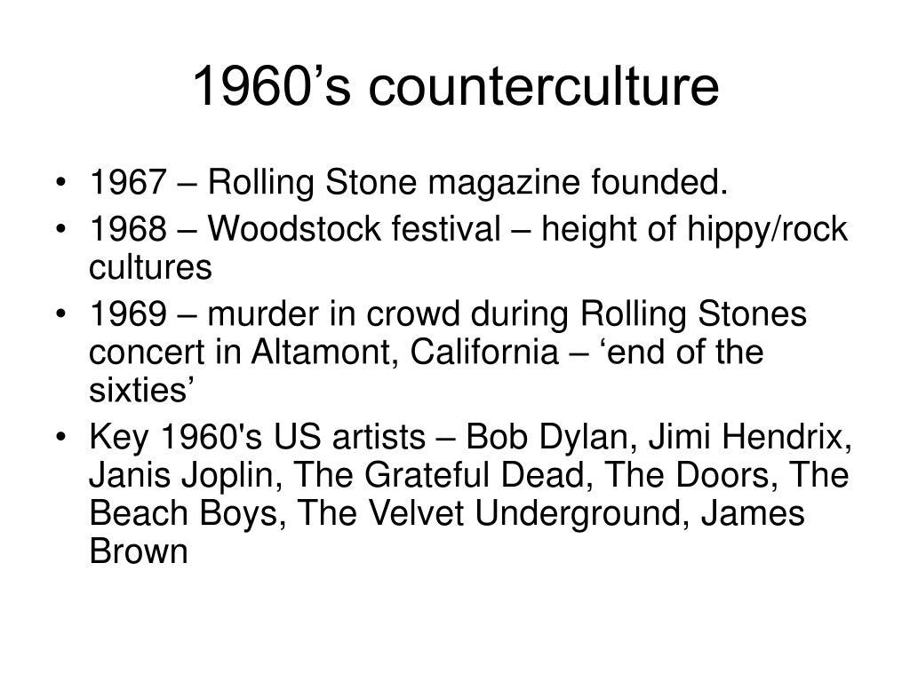 1960's counterculture