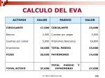 calculo del eva1