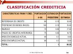 clasificaci n crediticia