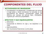 componentes del flujo1