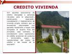 credito vivienda
