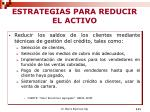 estrategias para reducir el activo1