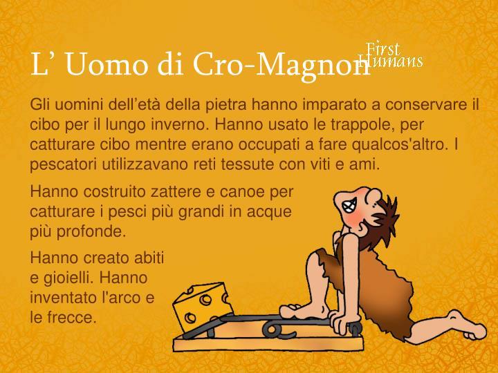 L' Uomo di Cro-Magnon