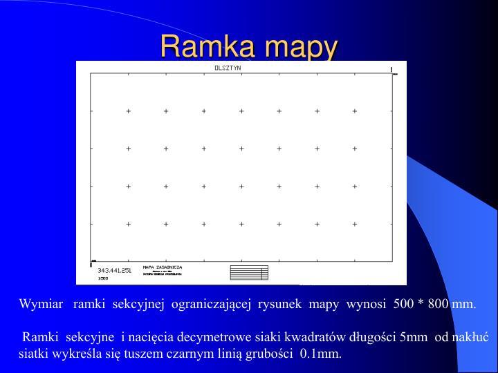 Ramka mapy