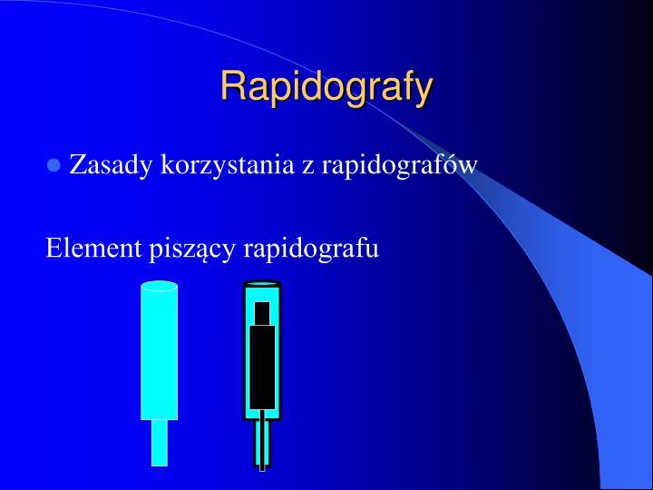 Rapidografy