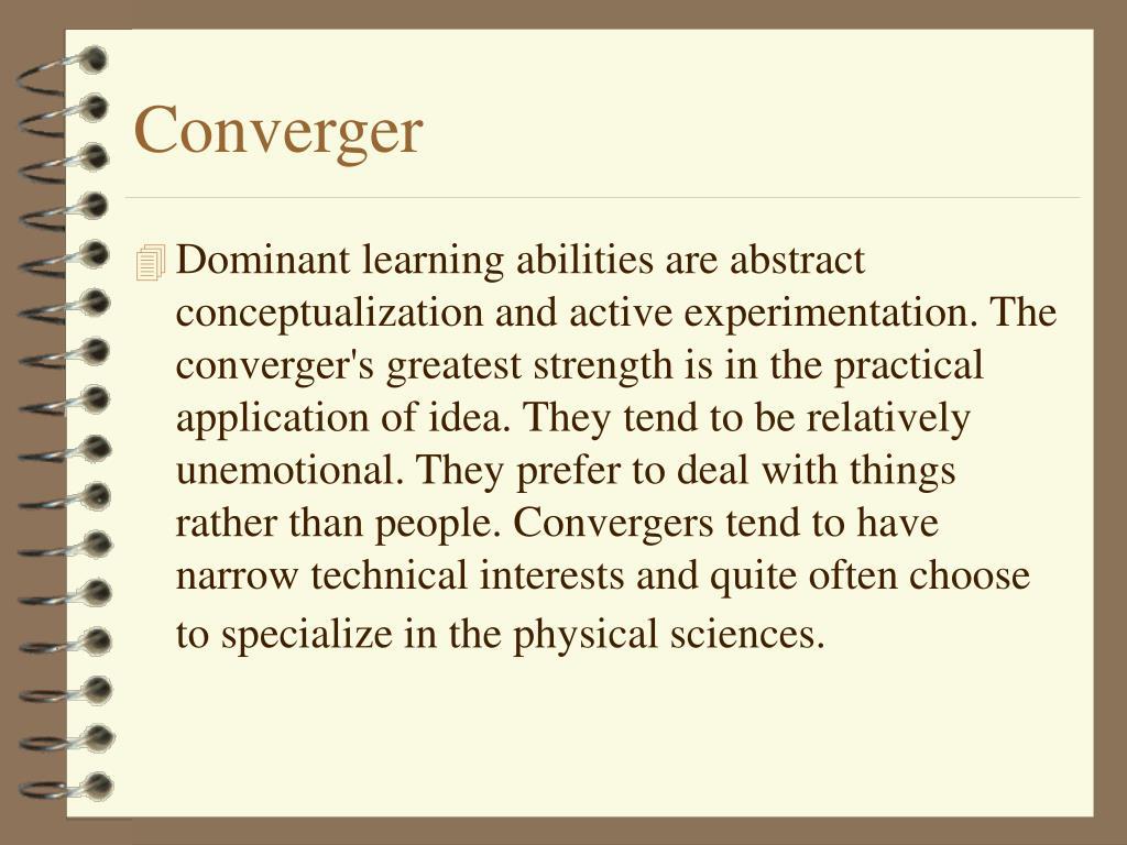 Converger