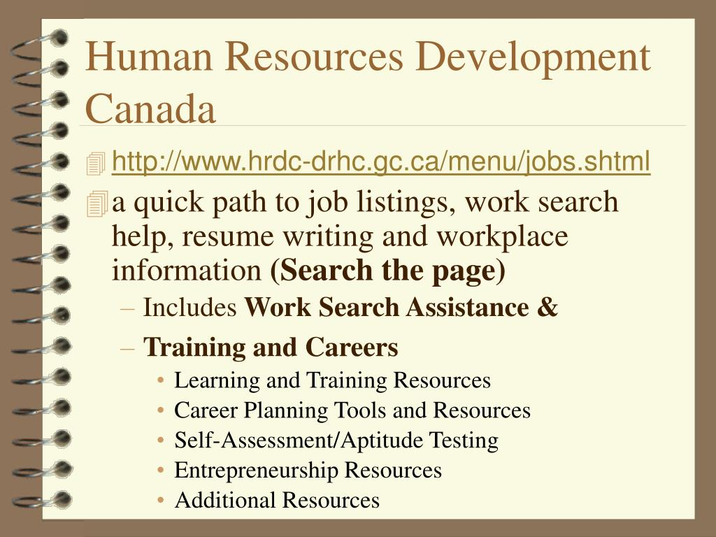 Human Resources Development Canada