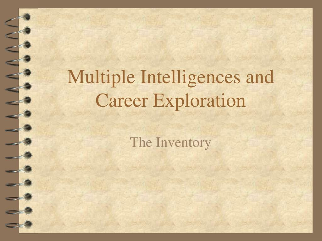 Multiple Intelligences and