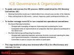 ice governance organization