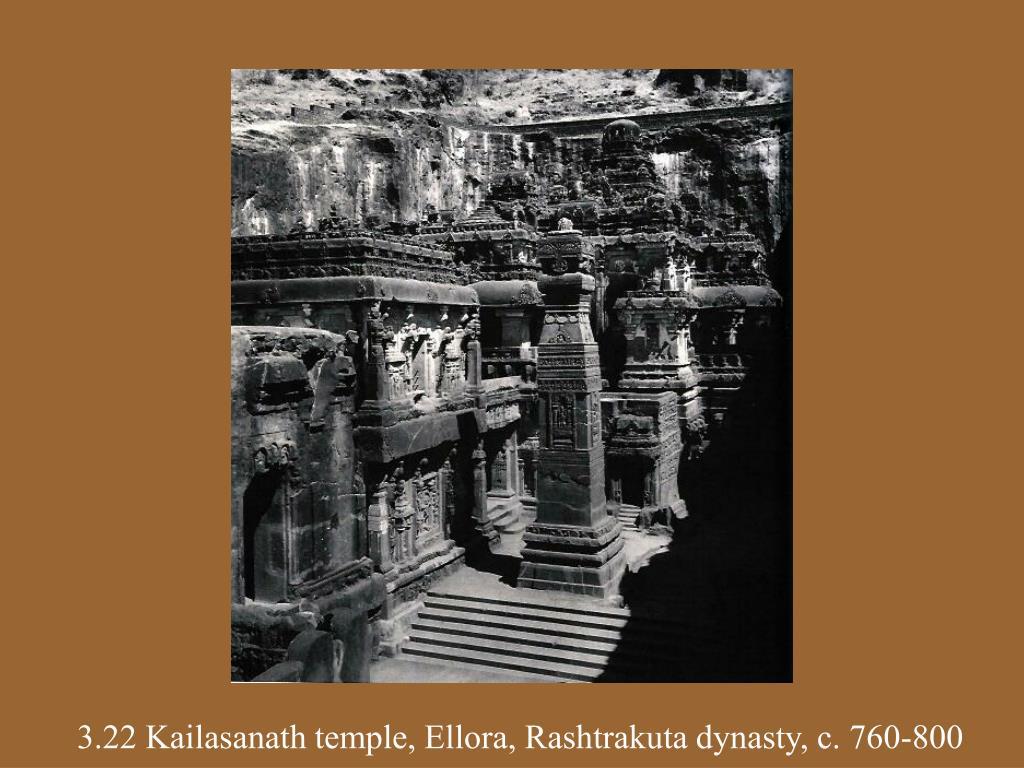 3.22 Kailasanath temple, Ellora, Rashtrakuta dynasty, c. 760-800