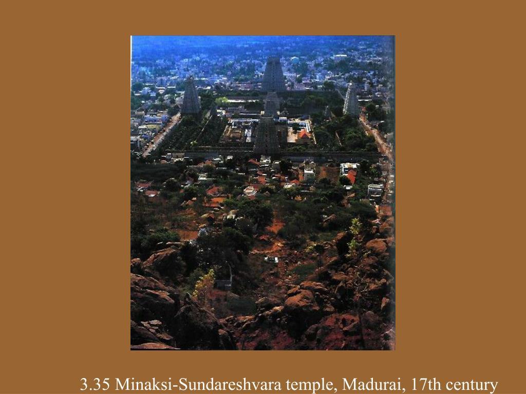 3.35 Minaksi-Sundareshvara temple, Madurai, 17th century