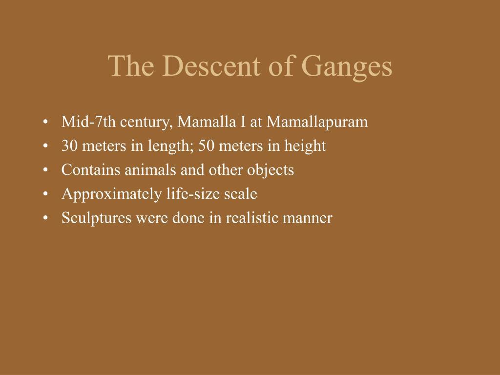 The Descent of Ganges