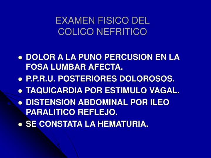 EXAMEN FISICO DEL