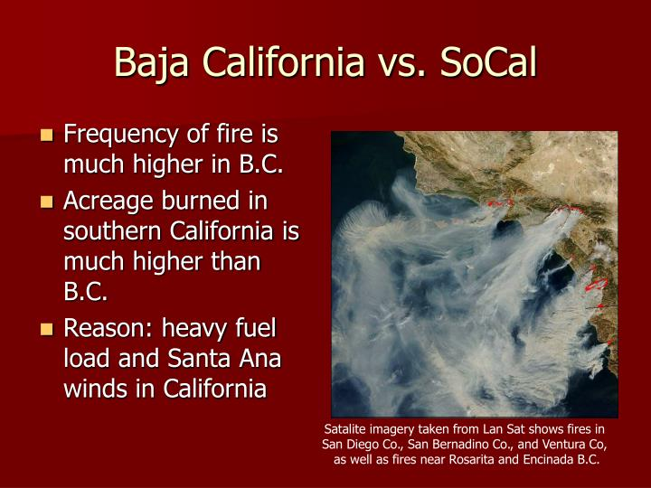 Baja California vs. SoCal