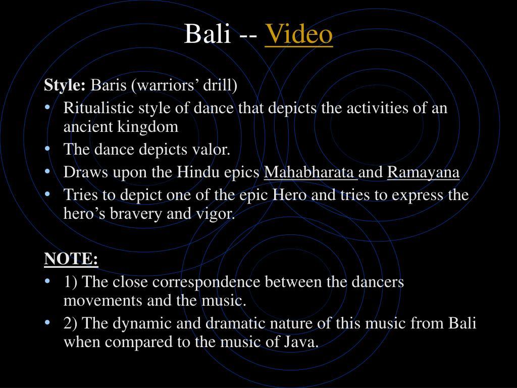 Bali --