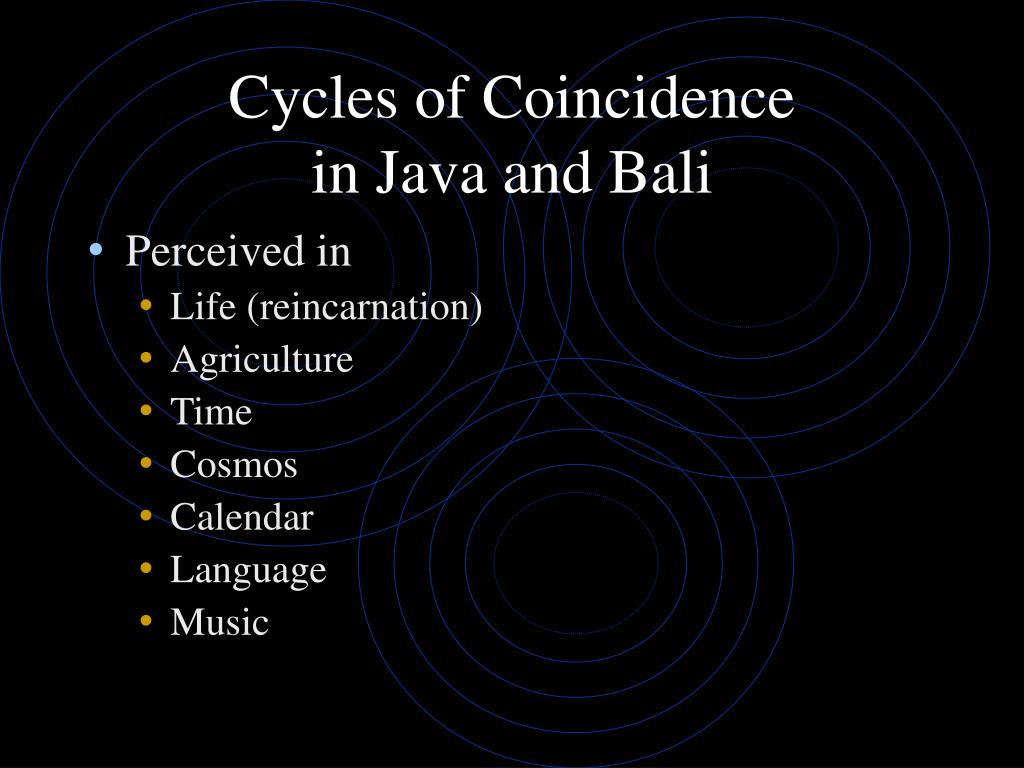 Cycles of Coincidence