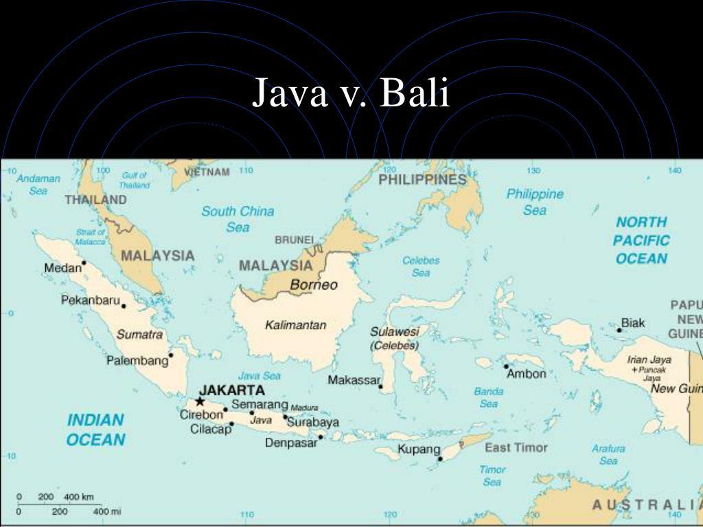 Java v. Bali