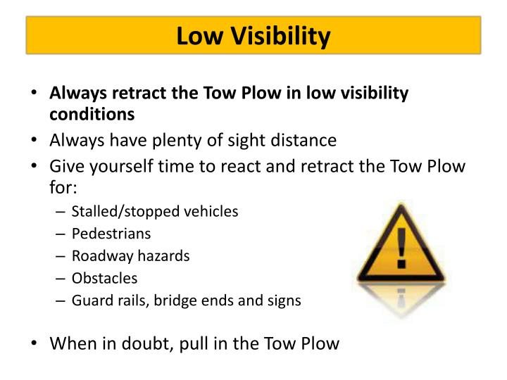 Low Visibility