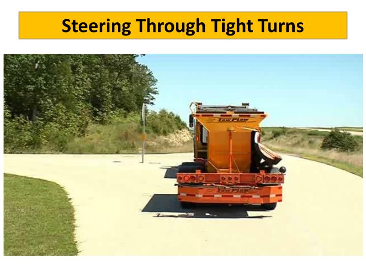 Steering Through Tight Turns